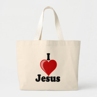 I Love of Jesus Gifts Tote Bags