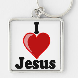 I Love of Jesus Gifts Key Chain