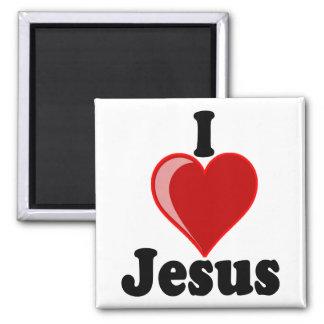 I Love of Jesus Gifts Refrigerator Magnet