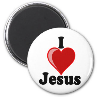 I Love of Jesus Gifts Magnets