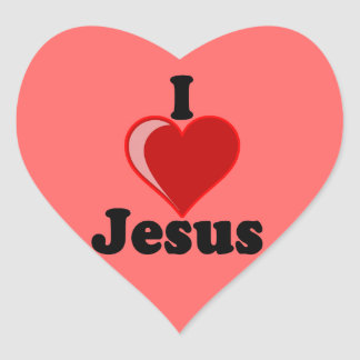I Love of Jesus Gifts Stickers