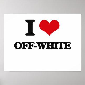I Love Off-White Poster