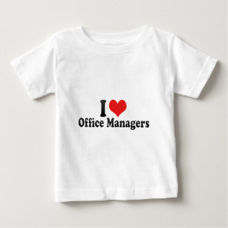 I Love Office Managers Shirt