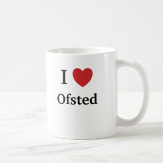 I Love Ofsted - Ofsted Loves Me UK Teacher Mug