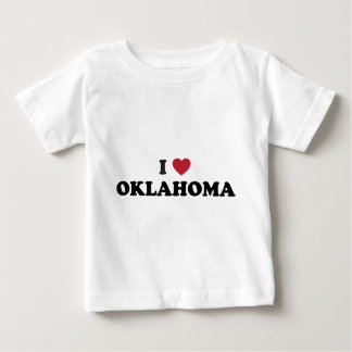 I Love Oklahoma Baby T-Shirt