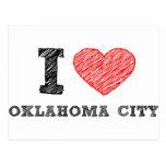 I Love Oklahoma City Postcard