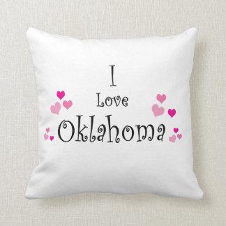 I Love Oklahoma Cushion