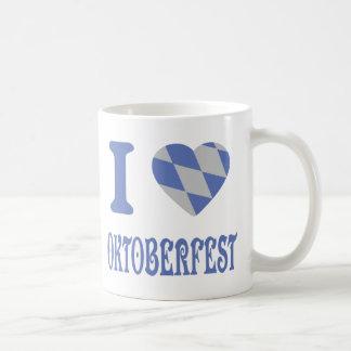 I love oktoberfest coffee mug