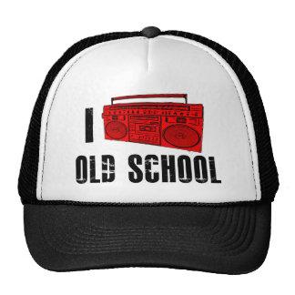 I love Old School (Boombox) Mesh Hat