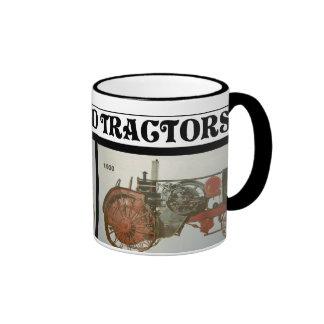 I LOVE OLD TRACTORS-MUG-1929 & 1930 RINGER MUG