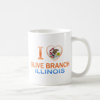 I Love Olive Branch IL Mug