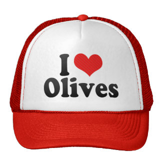 I Love Olives Cap
