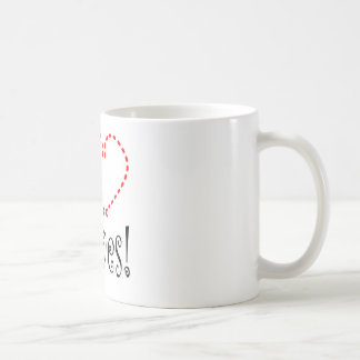 I Love Olives Classic White Coffee Mug