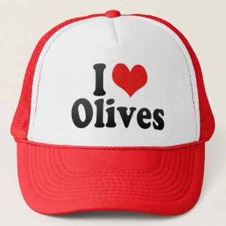 I Love Olives Trucker Hat
