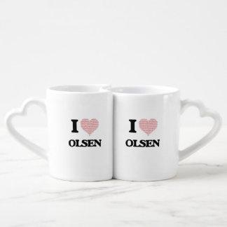 I Love Olsen Lovers Mug