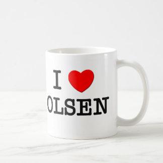 I Love Olsen Mug