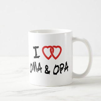 I Love Oma Opa Mugs