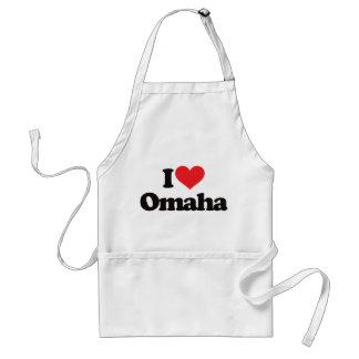 I Love Omaha Apron