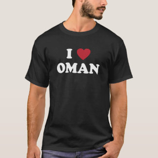 I Love Oman T-Shirt