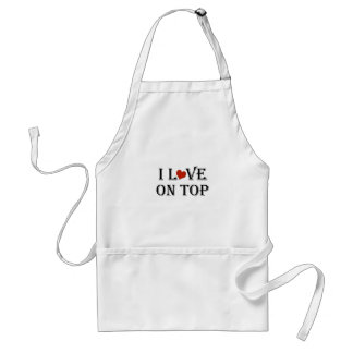I Love On Top a.png Standard Apron