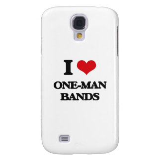 I love One-Man Bands Samsung Galaxy S4 Cases