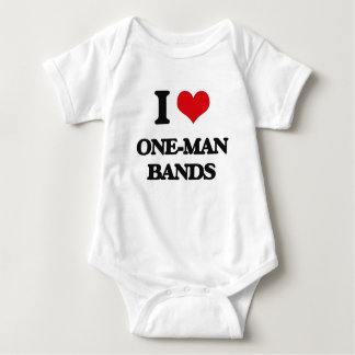I love One-Man Bands Tees