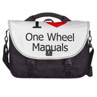I Love One Wheel Manuals Commuter Bags