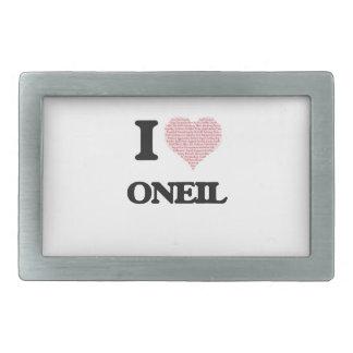 I Love Oneil Belt Buckles