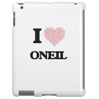 I Love Oneil iPad Case