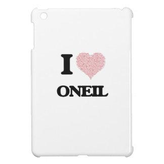 I Love Oneil iPad Mini Cases