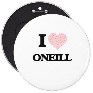 I Love Oneill 6 Cm Round Badge