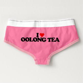 I LOVE OOLONG TEA BOYSHORTS