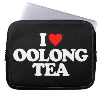 I LOVE OOLONG TEA LAPTOP SLEEVE
