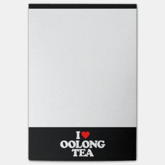 I LOVE OOLONG TEA POST-IT® NOTES