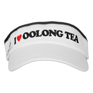 I LOVE OOLONG TEA VISOR