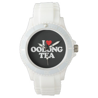 I LOVE OOLONG TEA WRISTWATCH