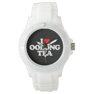 I LOVE OOLONG TEA WRISTWATCH