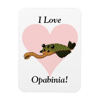 I Love Opabinia! Rectangle Magnet