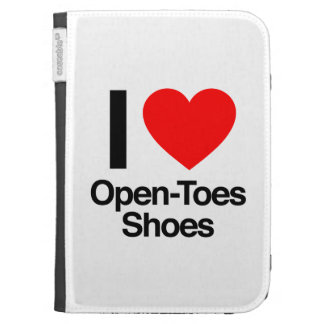 i love open-toes shoes case for the kindle