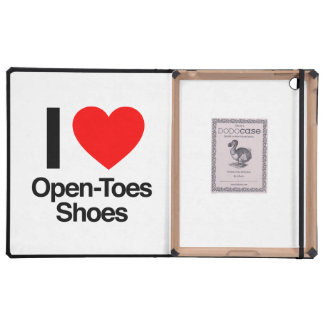 i love open-toes shoes cases for iPad