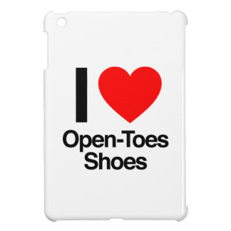 i love open-toes shoes iPad mini case