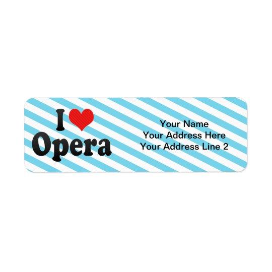 I Love Opera