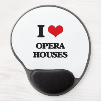 I Love Opera Houses Gel Mousepads