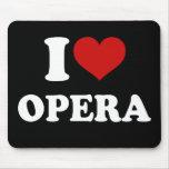 I Love Opera Mouse Pad