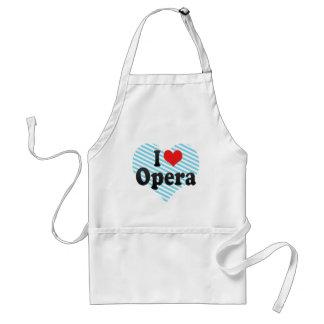 I Love Opera Standard Apron