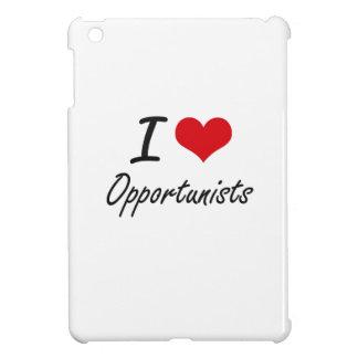 I Love Opportunists iPad Mini Cover