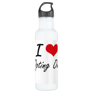 I Love Opting Out 710 Ml Water Bottle