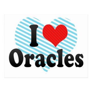 I Love Oracles Postcard