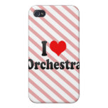 I love Orchestra iPhone 4/4S Cases