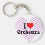I love Orchestra Keychain